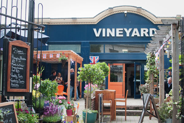 Apéro au Vineyard Londres Islington