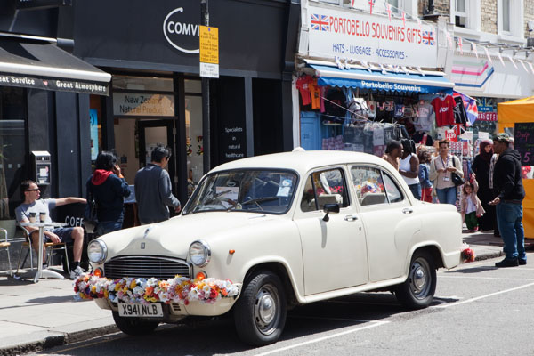 Quartier de Portobello Road London