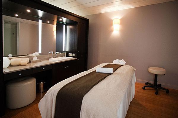 cabines de soin du spa Guerlain