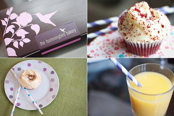 Dégustation de cupcakes chez Hummingbird Bakery à Londres