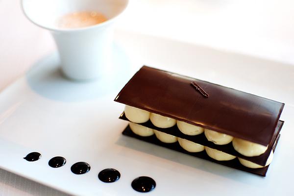 Millefeuille chocolat Le Ciel de Paris
