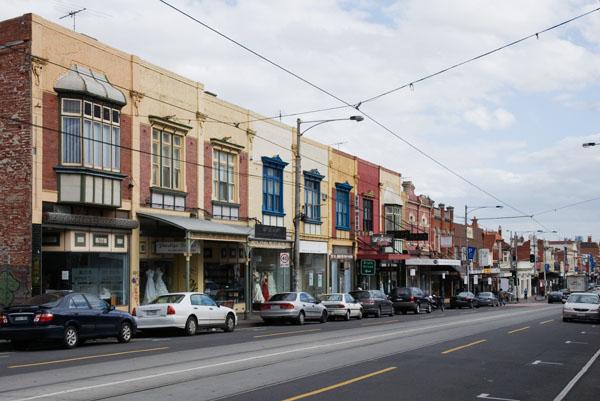Commerces à Melbourne en Australie