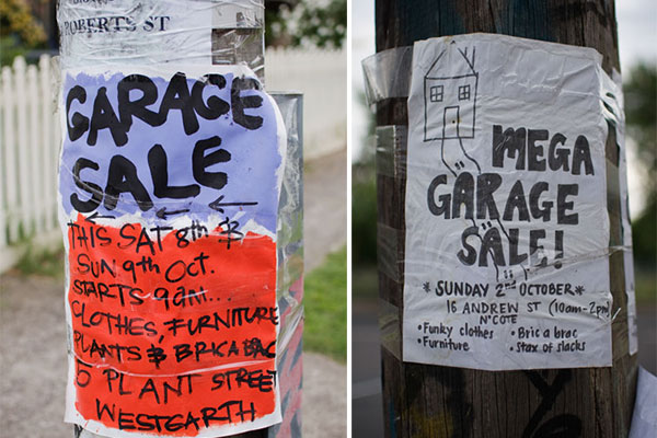 Australia Garage sale