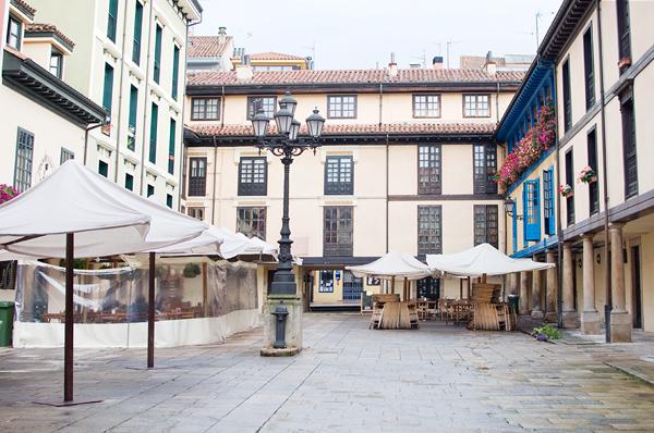 Plaza el fontan oviedo