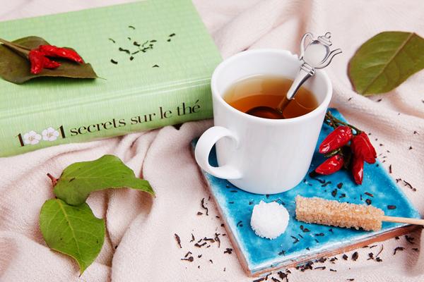 Tea Time de l'hiver et cocooning