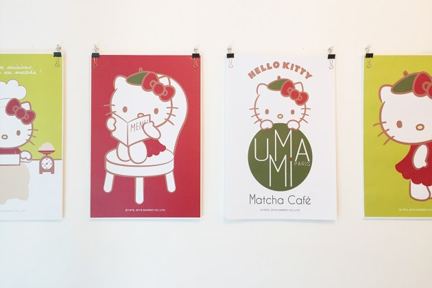 UMAMI Matcha café x Hello Kitty