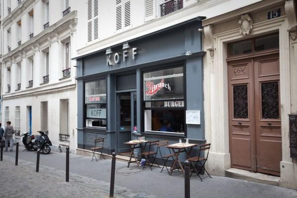 KOFF burger à Montmartre