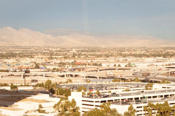 Las Vegas, en plein désert américain