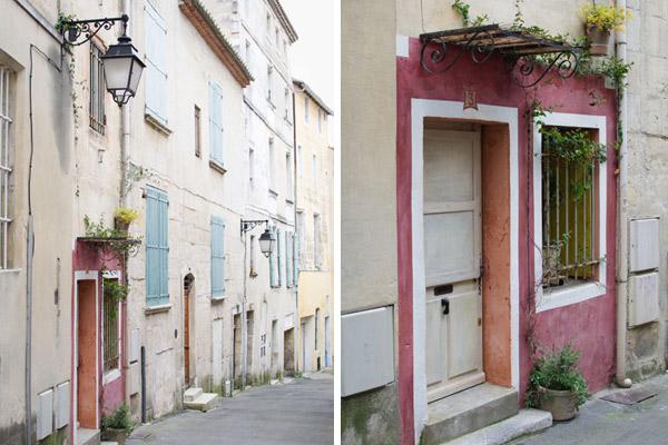 Rues colorées en Arles