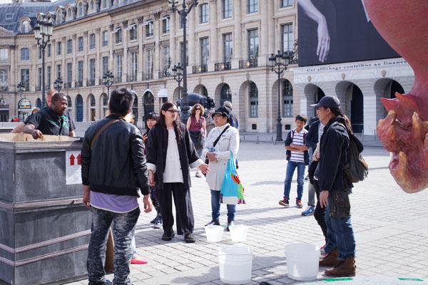 Li Chen solo show Paris 2013
