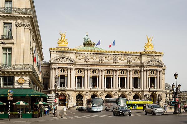 Visite du Palais Garnier à Paris