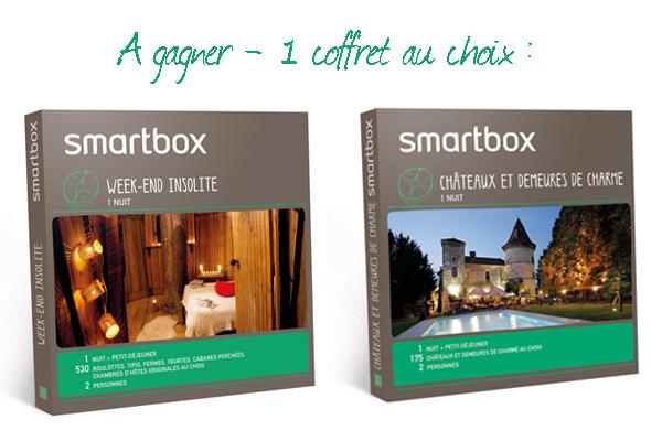 Coffret cadeau Smartbox voyage insolite