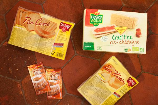 Commande EpicUrbain : du pain et de la levure sans gluten