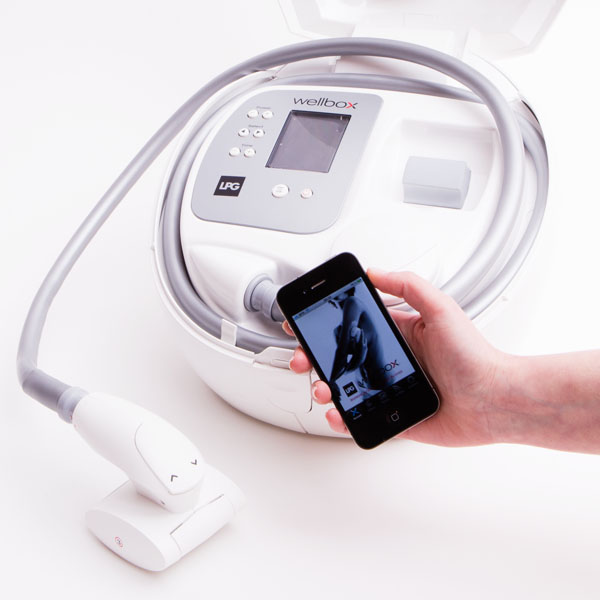 Appli iPhone Wellbox by LPG