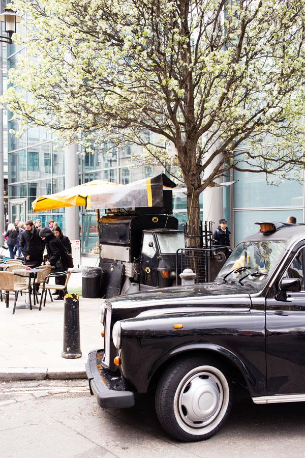 Cafés itinérants à Londres