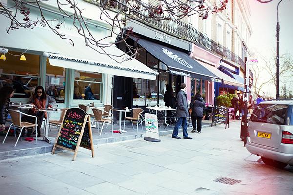 Shopping à Primrose Hill à Londres
