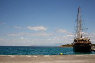 Bienvenue à Egine en Grèce