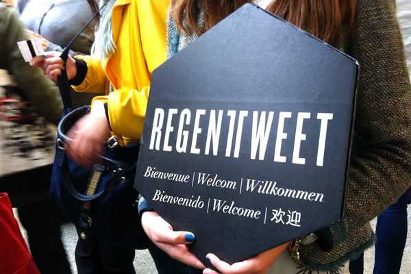 Regent Tweet event 2014 in London