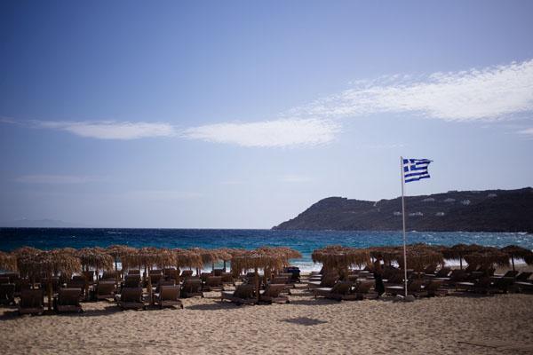 Elia Beach à Mykonos