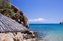 Plage de Super Paradise Mykonos