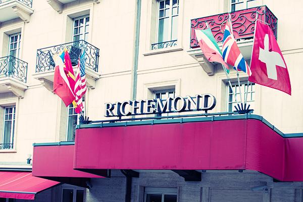 Le Richemond Genève Suisse