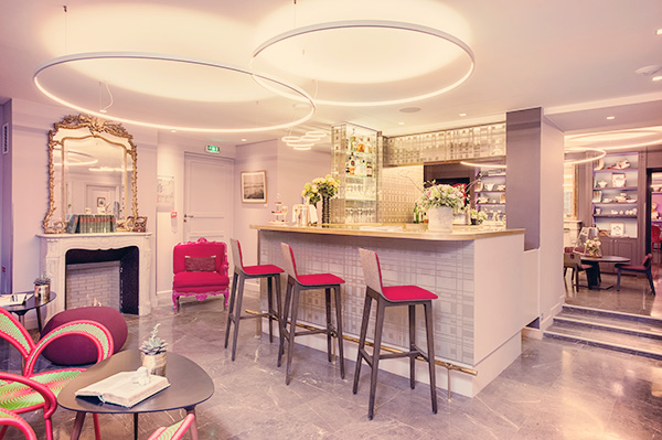 Lobby Hôtel La Belle Juliette Paris