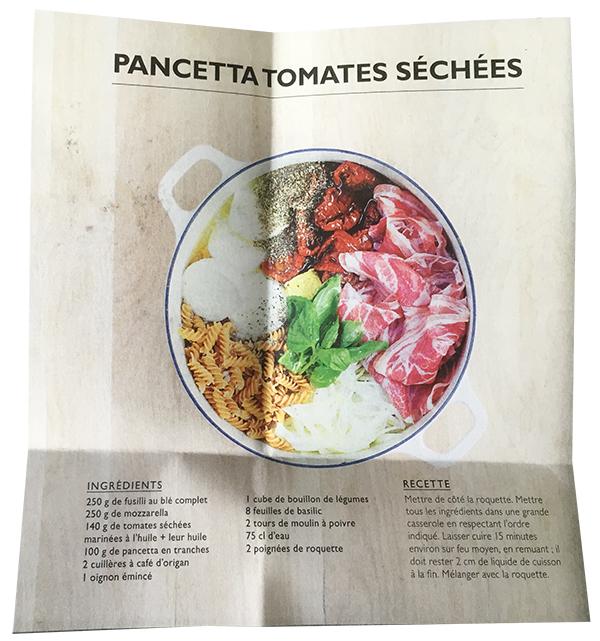 One-pan gluten free pasta