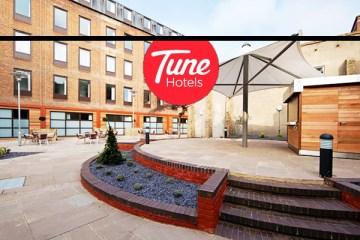Tune hotel Liverpool Street