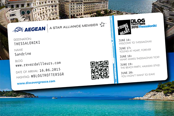 Boarding pass Aegean Airlines