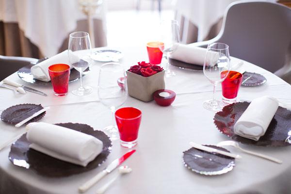 Salle du retsaurant gastronomique de l'Hostellerie de Levernois