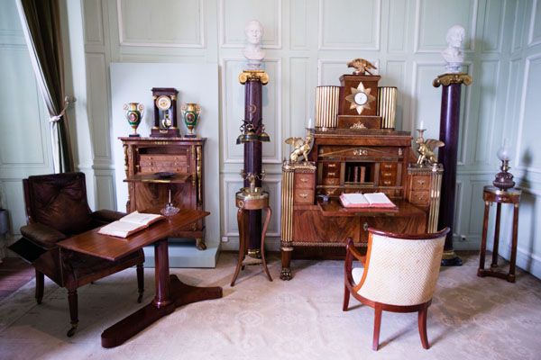 Valençay - cabinet de travail
