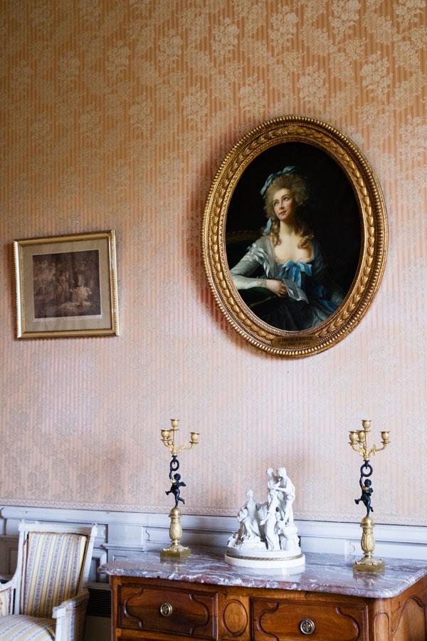 Valençay - Chambre de Princesse de Bénévent