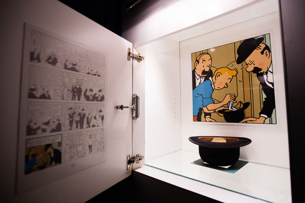 Exposition Tintin à Cheverny
