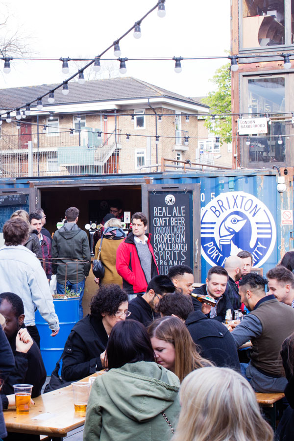 POP Brixton à Londres