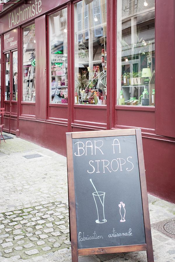 Bar à sirops L'Alchimiste à Chevreuse