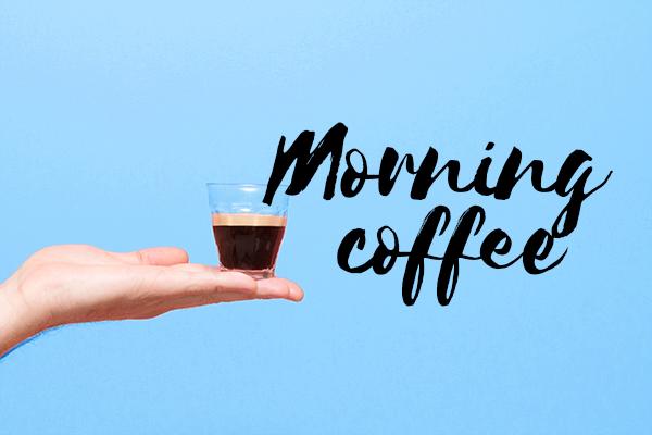 Un gars, un café