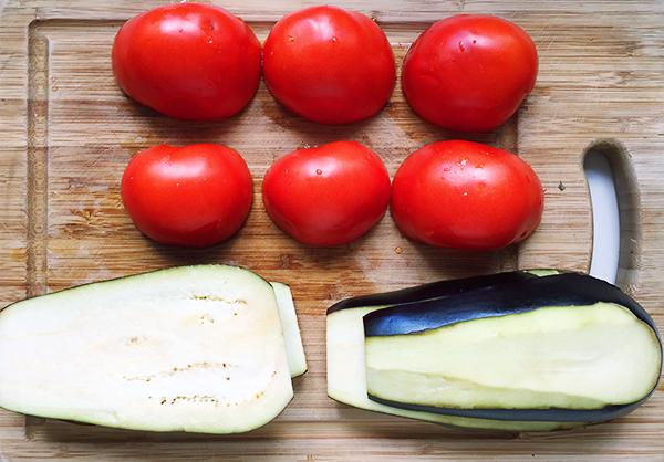 Recette aubergines à la parmesane