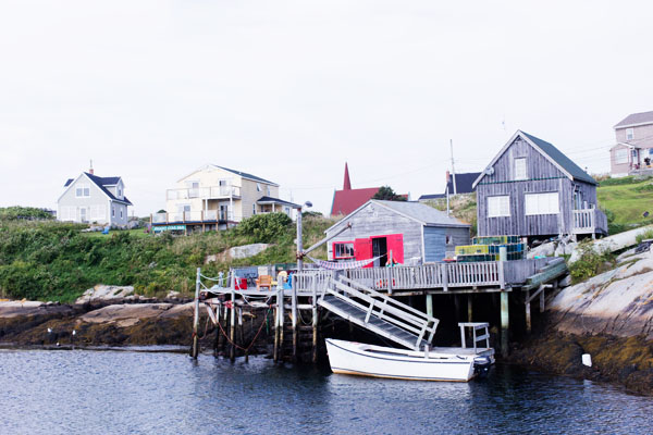 Peggy's Cove village