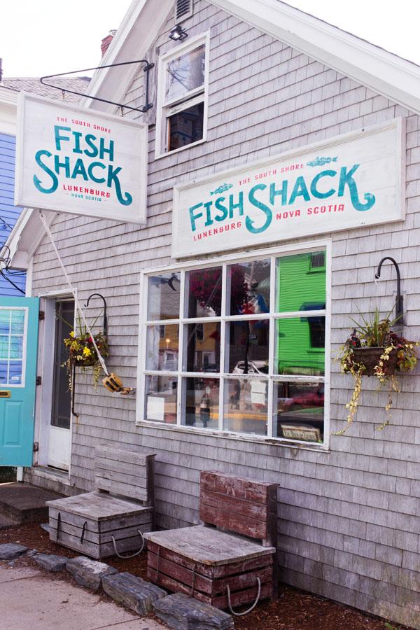 Fish Shack Lunenburg Nova Scotia