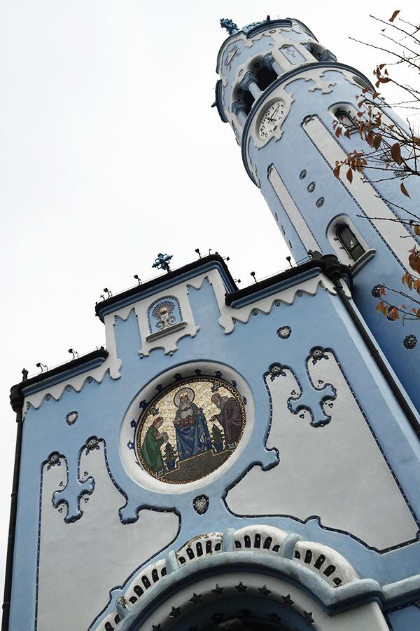 Bratislava Blue Church