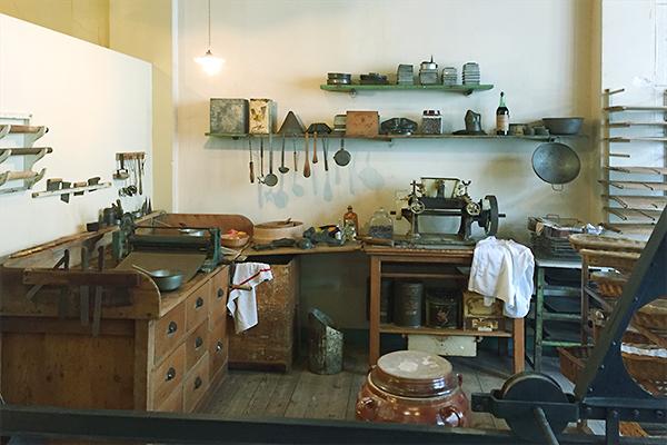 Musée des commerces d'autrefois à Rochefort - Patisserie