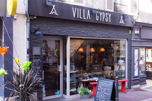 Coffee shop Villa Gipsy