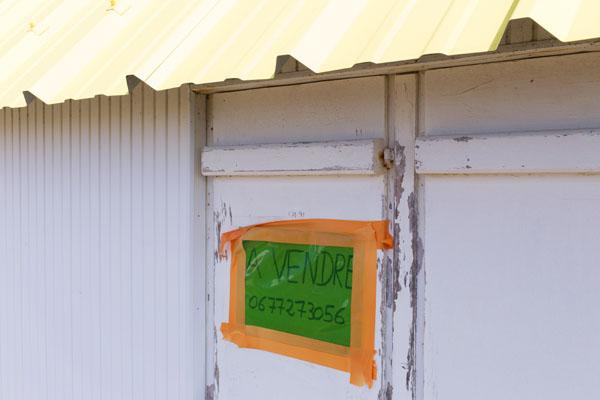 Cabines de bain à vendre à Gouville-sur-Mer