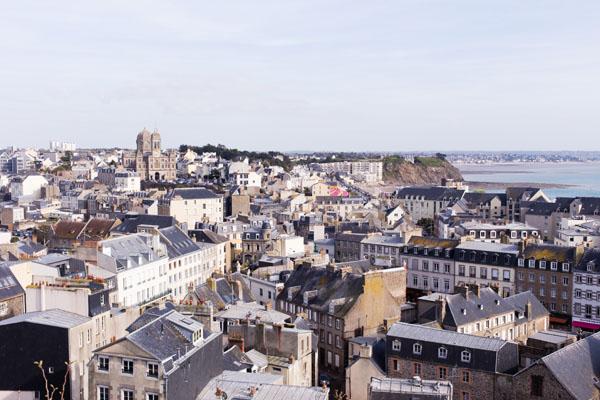 Panorama sur Granville Normandie