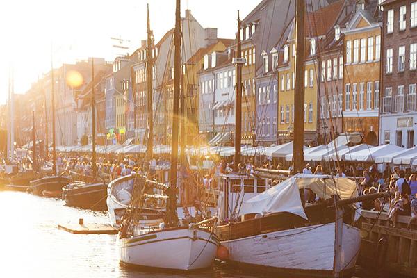 Nyhavn à Copenhagen
