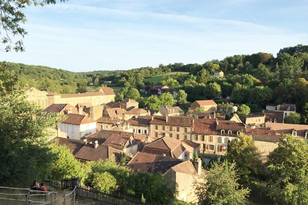 Panorama sur Cadouin en Dordogne