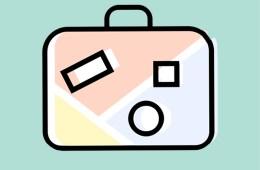 Travel blog icon