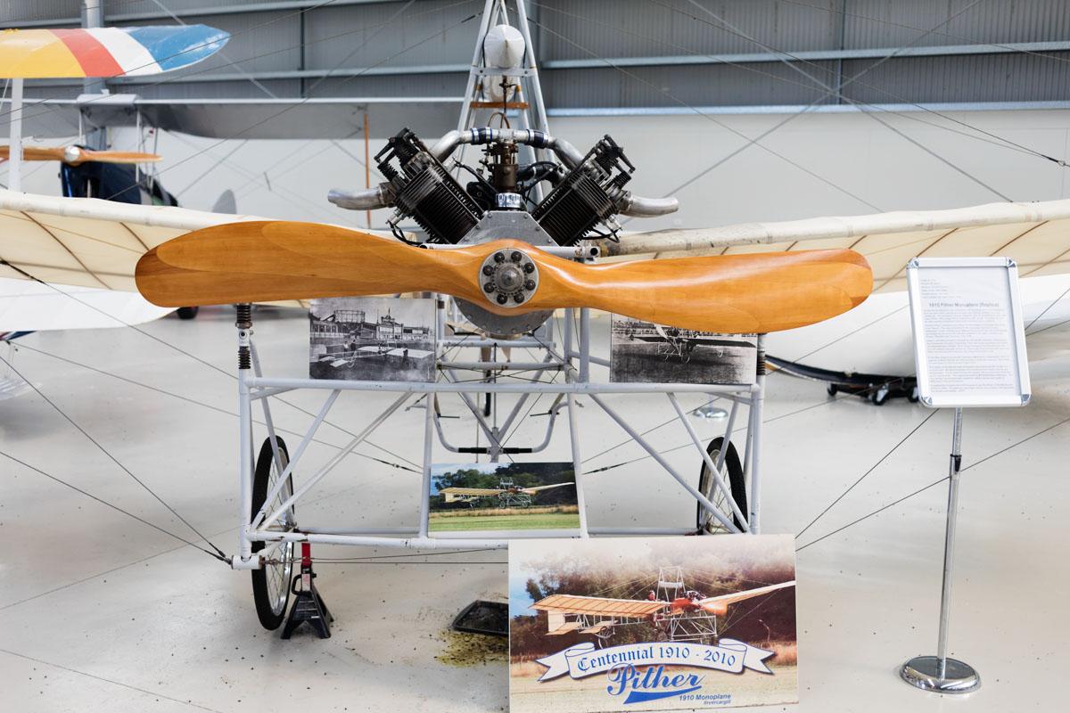 1910 PIther monoplane (replica)