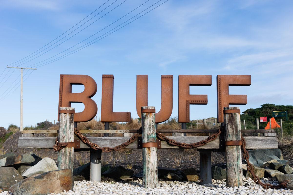 Bluff Nouvelle Zélande
