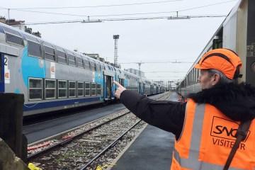 Visite technicentre Intercité SNCF Clichy-Levallois